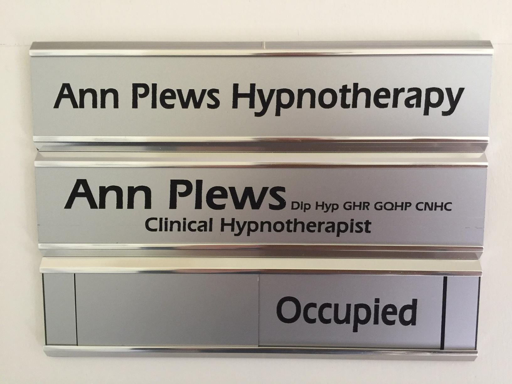 Ann Plews Hypnotherapy